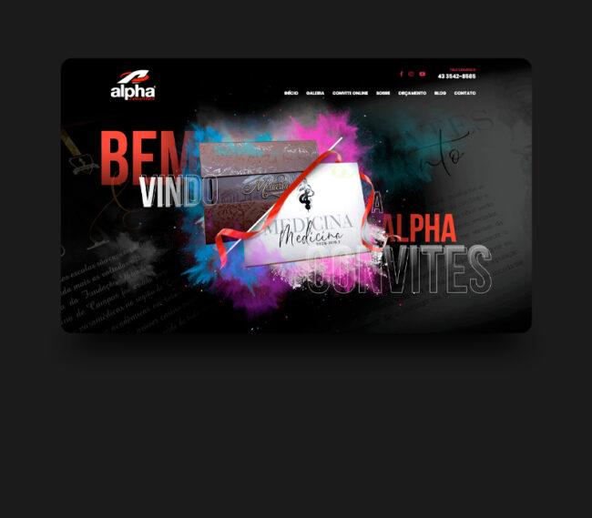 Alpha Convites - Thumbnail